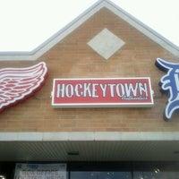 Photo taken at Hockeytown Authentics by Ren R. on 1/9/2012
