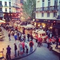 5/18/2012 tarihinde Simon V.ziyaretçi tarafından Place Saint-Géry / Sint-Goriksplein'de çekilen fotoğraf