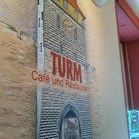 Photo taken at Café Turm by Daniel S. on 7/11/2012