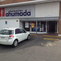 Photo taken at Farmacias Ahumada by Felipe G. on 3/10/2012