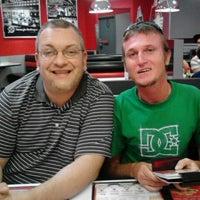 Photo taken at Steak 'n Shake by Matt H. on 4/24/2012