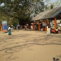 Photo taken at Oachira Temple by Sajeev on 3/9/2012