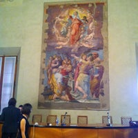Photo taken at Cappella Farnese by Elena G. on 6/1/2012