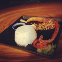 """Photo taken at ร้าน""""ต้นปาล์ม"""" by Nathaphat W. on 3/14/2012"""