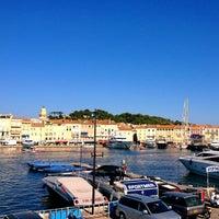 Photo taken at Port de Saint-Tropez by Carlos E. on 8/18/2012