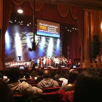 Photo taken at Times Square Church by Ahrang Y. on 2/25/2012