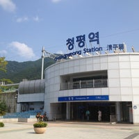 Photo taken at Cheongpyeong Stn. by Hyewon Y. on 9/3/2012