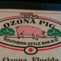 Photo taken at The Ozona Pig by Kiran K. on 4/5/2012