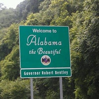Photo taken at Alabama/Tennessee State Line by Shannon H. on 5/12/2012