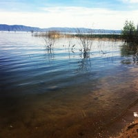 Photo taken at Bear Lake Beach by Angie F. on 6/3/2012