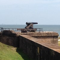Photo taken at Fort Gaines by Kelly M. on 9/3/2012