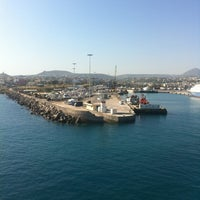 Photo taken at Port of Heraklion by Giorgos T. on 5/5/2012