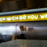 Photo taken at Which Wich? Superior Sandwiches by Steve R. on 5/17/2012