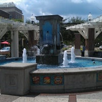 Photo taken at Winter Garden Village Fountain by Steve F. on 9/7/2012