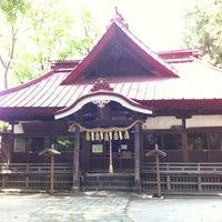 Photo taken at 八王子神社 by Makoto C. on 5/19/2012