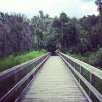 Photo taken at Paynes Prairie Preserve State Park by Chris P. on 7/25/2012