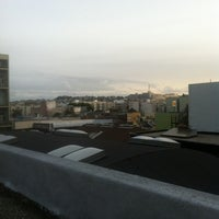 Photo taken at Foursquare SF Roof by Adam A. on 3/1/2012