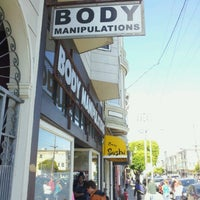 Photo taken at Body Manipulations by Ian M. on 7/25/2012
