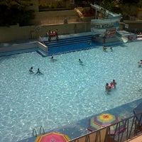 Photo taken at Balneario Agua Hedionda by alberto p. on 7/1/2012