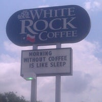 Photo taken at White Rock Coffee by Mark S. on 7/15/2012