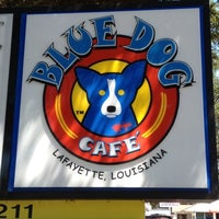 Photo taken at Blue Dog Cafe by Latham B. on 9/9/2012