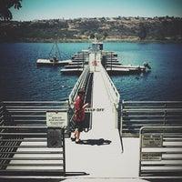 Photo taken at Lake Miramar Reservoir by Eric D. on 7/24/2012