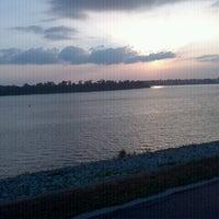 Photo taken at Evansville Riverfront by James C. on 7/21/2012