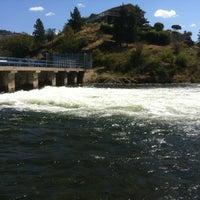 Photo taken at Ok Falls, BC by Richard D. on 7/18/2012