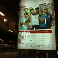 Photo taken at Ang Mo Kio MRT Station (NS16) by Louie C. on 7/30/2012