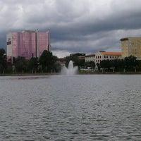 Photo taken at Lake Mirror by Jessica O. on 7/17/2012