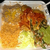 Photo taken at Jilberto's Taco Shop by Jen B. on 6/28/2012