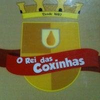 Photo taken at O Rei das Coxinhas by Ana Paula S. on 6/19/2012