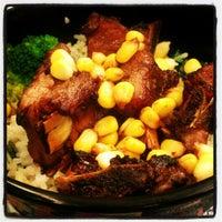 Photo taken at Hong Kong Kim Gary Restaurant (香港金加利茶餐厅) by Kian Shing T. on 5/9/2012