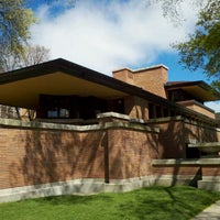 Photo taken at Frank Lloyd Wright Robie House by Mio O. on 4/5/2012