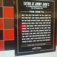 Photo taken at Jimmy John's by Wayne H. on 2/21/2012