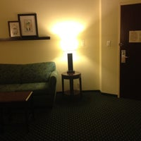 Photo taken at SpringHill Suites Morgantown by Christina J. on 8/7/2012