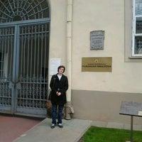 Photo taken at Vilniaus universiteto Filologijos fakultetas by Антон Б. on 5/13/2012