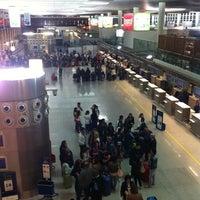 "Photo taken at Aeroporto di Catania Fontanarossa ""Vincenzo Bellini"" (CTA) by Wiebe d. on 5/19/2012"