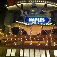 Photo taken at Naples Ristorante & Pizzeria by Mike S. on 3/10/2012