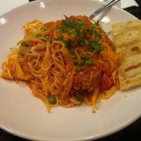 Photo taken at Fuzio Universal Bistro by Lizan Z. on 9/9/2012