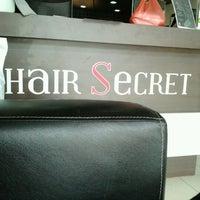 Photo taken at Hair Secret Salon by Denis Avin F. on 4/7/2012