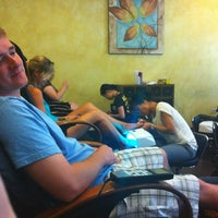 Photo taken at Polished Nail Salon by Ivy H. on 7/7/2012