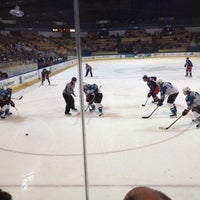 Photo taken at Worcester Sharks by Jaybo M. on 4/1/2012