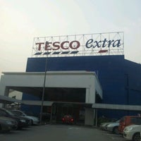 Photo taken at Tesco Extra by S M Sabri I. on 8/11/2012