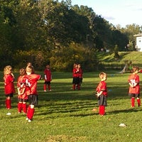 Photo taken at Wappinger United Soccer Club by Jason D. on 9/10/2012