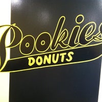 Photo taken at Pookies Donuts by luis m. on 4/21/2012