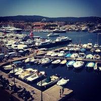 Photo taken at Port de Saint-Tropez by Nathalie D. on 7/25/2012