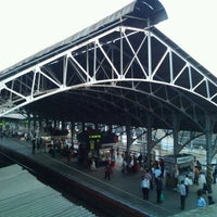 Photo taken at Bandra Railway Station by Rohit B. on 2/7/2012