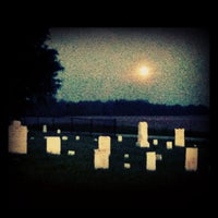 Photo taken at Finley Chapel Cemetary by 🎀 Kayleigh 🎀 on 5/6/2012