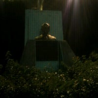 Photo taken at Busto de Rufo Figueroa by Shelo C. on 6/14/2012